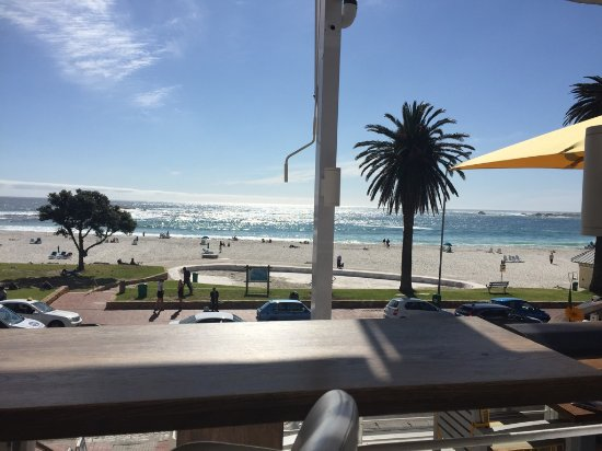 Camps Bay, Sudáfrica: The view from La Belle on 20 September 2016