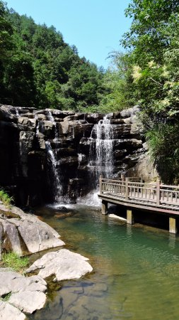 Lishui, China: Nice waterfall