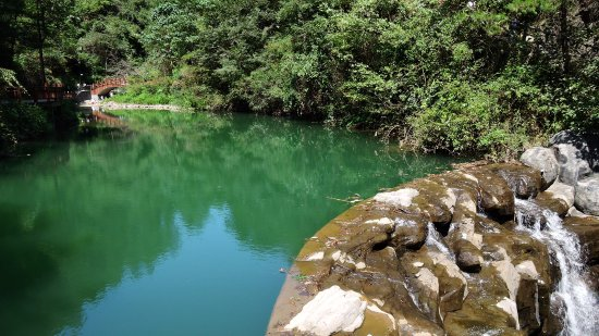 Lishui, Cina: Green water is always beautiful