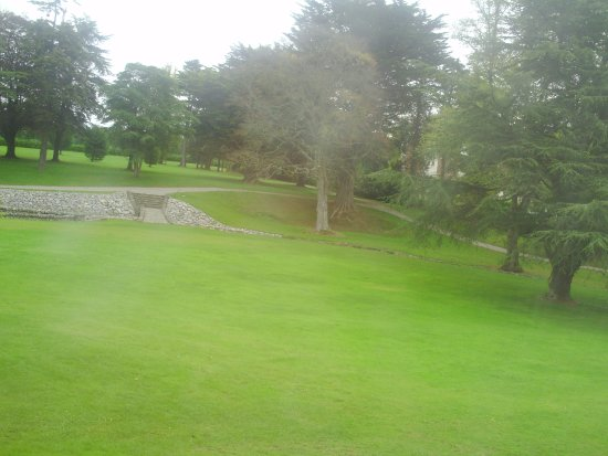 Drogheda, Ireland: View From Room