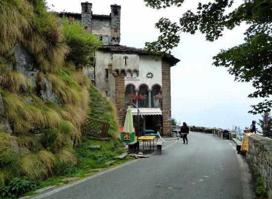 San Paolo Cervo, Italie : Vista del ristorante