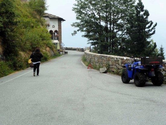 San Paolo Cervo, Италия: Arrivo alla locanda