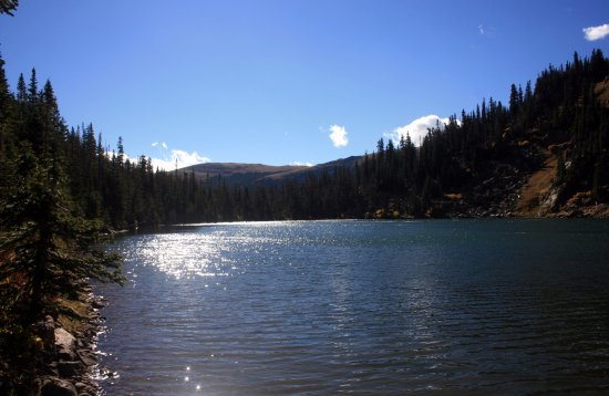 Rollinsville, CO: Crater Lake View
