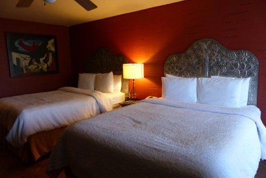 La Posada Lodge and Casitas: bequeme, große Betten