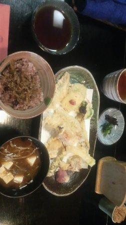 Sumoto, Japón: 天ぷらランチ 1500円