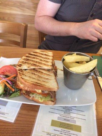 Bury, UK: Best slow cooked beef sandwich ever