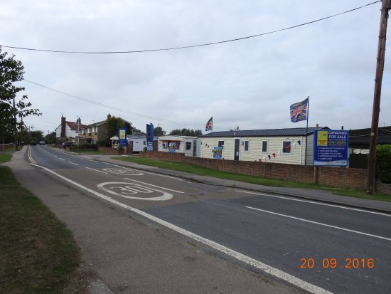 Winchelsea, UK: Outside the caravan park