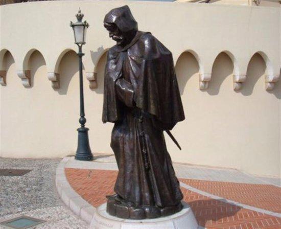 Chapelle Sainte Devote: moine fondateur de la dynastie des Grimaldi
