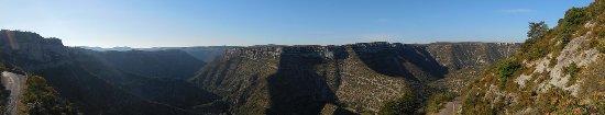 Saint-Maurice-Navacelles, France : panoramique