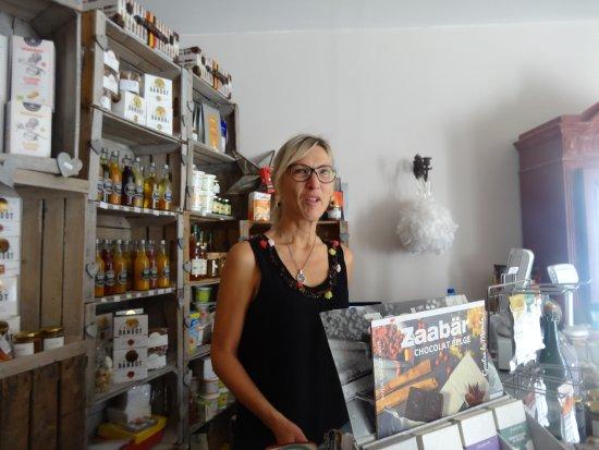 Coustellet, Francja: La patronne