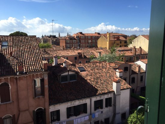 Best Western Hotel Olimpia: out the window