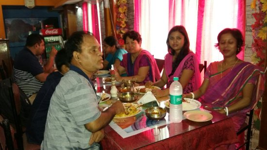 Jorhat, Hindistan: Get together party. ....at..Meridian Restaurant.