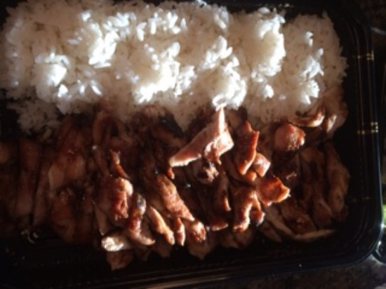 Dublin, CA: Chicken teriyaki
