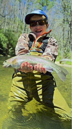 Headwaters Outfitters Outdoor Adventures: Rainbows bring happiness!