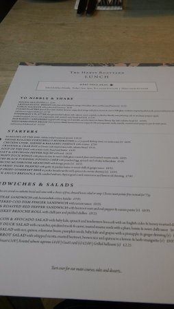 Surbiton, UK: The menu which you are able to view online