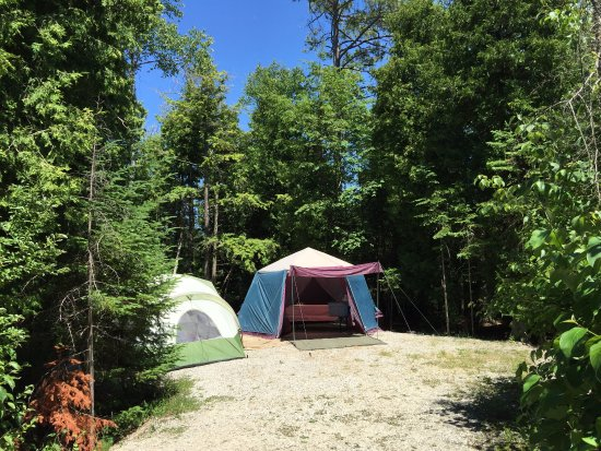 Tiverton, Canada: Inverhuron Provincial Park - Site 113 Lime Kiln Campground