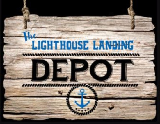 Toledo, Огайо: Updated sign for Lighthouse Landing Depot