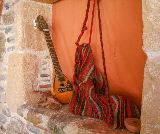 Sougia, กรีซ: Wall alcove display