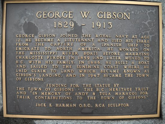 Gibsons, Canadá: A little history