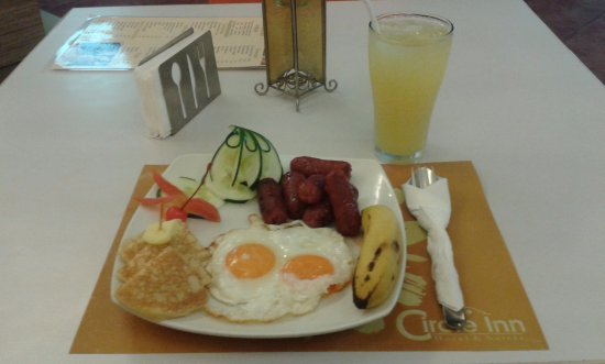 Circle Inn - Hotel & Suites: Purchased breakfast