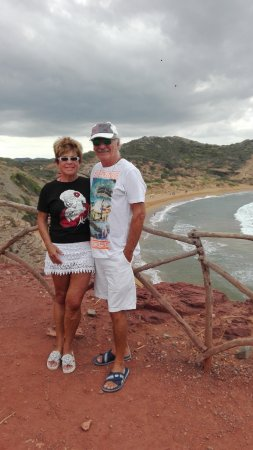 Mercadal, Spanien: Bajada a la playa
