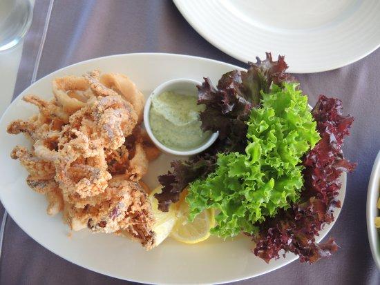 Al Marsa: Fresh crispy calamari