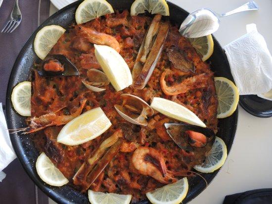 Al Marsa: Seafood paella