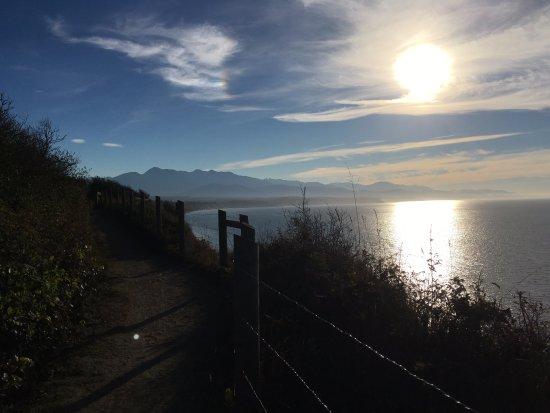 Sequim, Вашингтон: Dungeness Trail