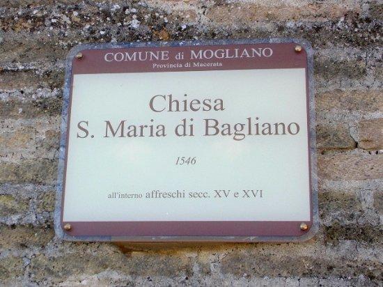 Mogliano, Italia: Cartello turistico comunale