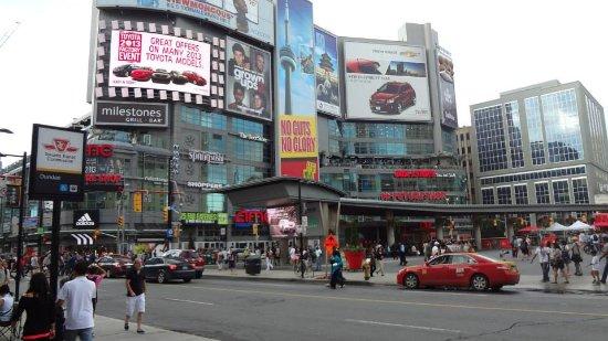 Dundas Square/ Canada Day - Picture of Yonge-Dundas Square ...