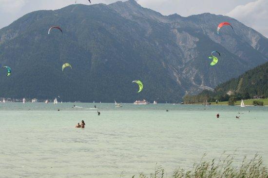 Activity on Lake Achensee
