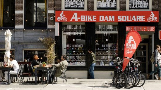 ‪A-Bike Dam Square - Bike Rental & Tours Amsterdam‬