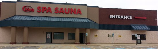 Niles, IL: Mall side of King Spa Sauna