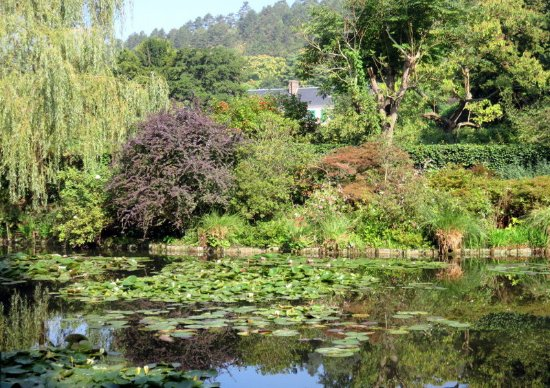 클로드 모네의 집과 정원 사진