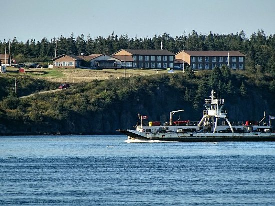 Westport, Kanada: Brier Island lodge and the ferry