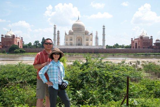 Mehtab Bagh: Money shot of the Taj from Mehtab Bah