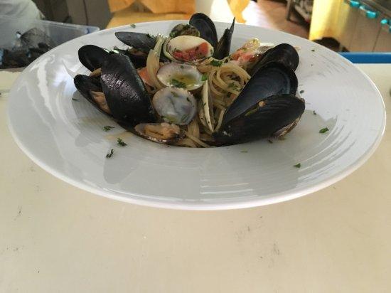 Capannoli, إيطاليا: Spaghetti allo scoglio