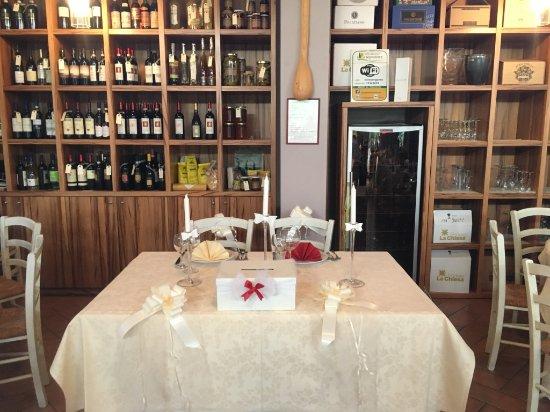 Capannoli, Italia: Tavolo sposi