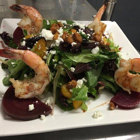 Seaford, NY: shrimp salad