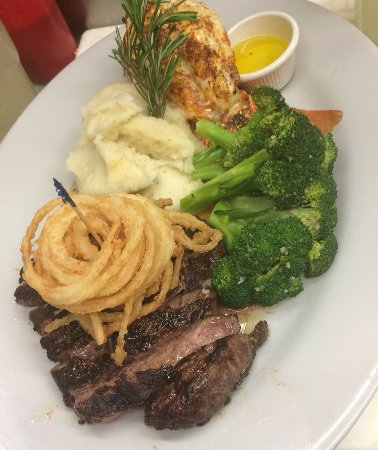Seaford, NY: shell steak