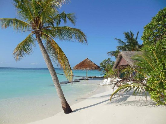 Thulhagiri Island Resort: Een strandhuisje