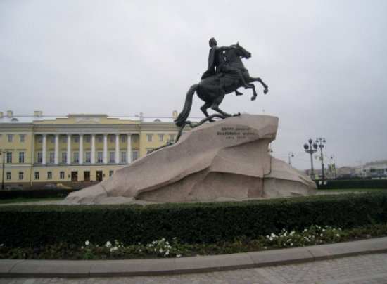 Bronze Horseman, Monument To Peter I: Peter the Great statue