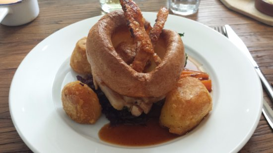 Torpoint, UK: Roast pork, with all the trimmings - a great Sunday lunch