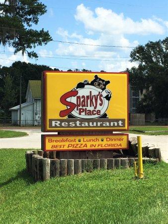 Astor, FL: Roadside Sign