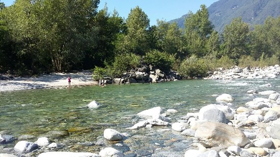 Tegna, Swiss: Fluss Melezza