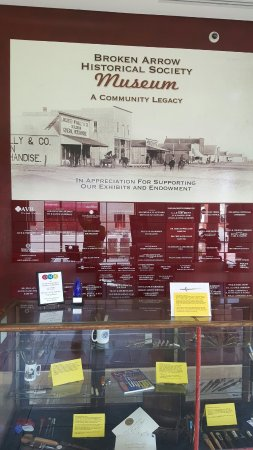 Broken Arrow Historical Society Museum