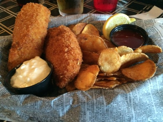 Glendale, OH: fish and chips