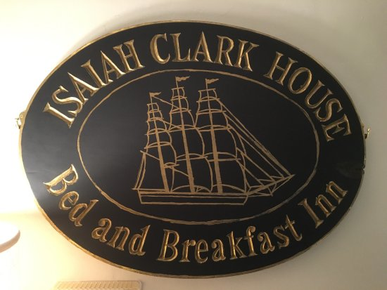 Brewster, MA: Wall plaque in reception room