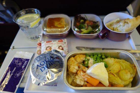 thai airways god mat i tillracklig mangd