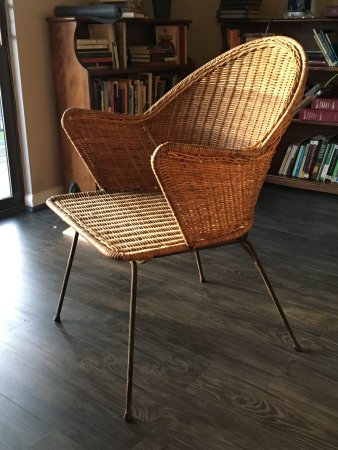 Groovy Wicker Chair From Avondale Antiques Love It Picture Of Download Free Architecture Designs Scobabritishbridgeorg